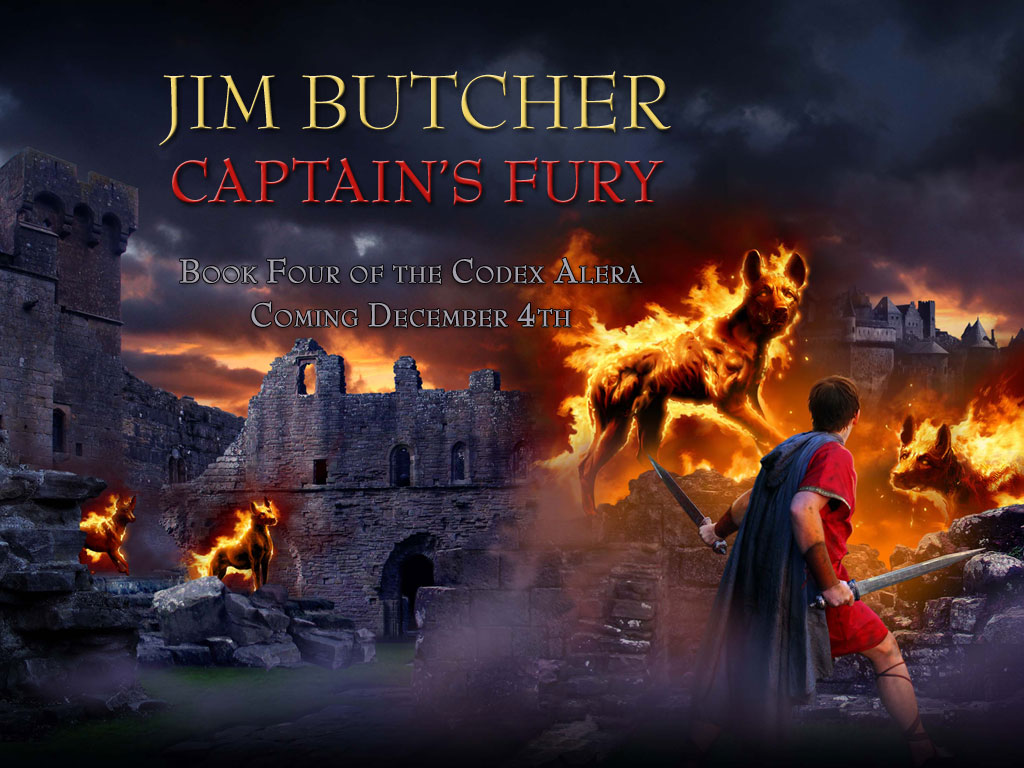 Codex Alera Series by Jim Butcher